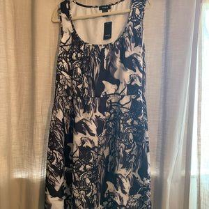 NWT Torrid Black and White Skater Dress size 3